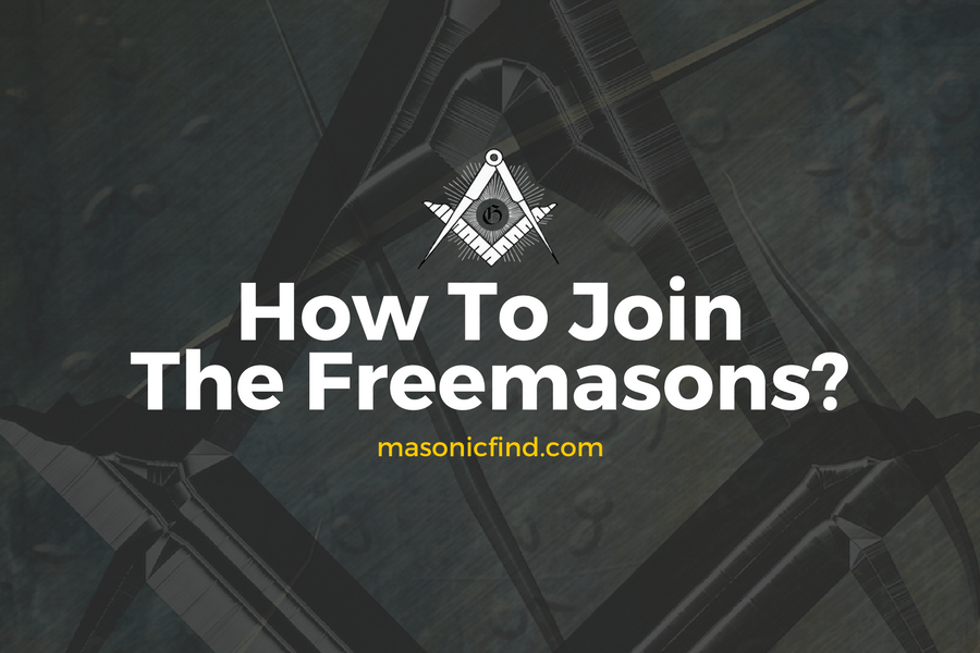 How To Join The Freemasons?