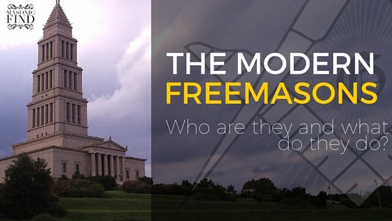 The Modern Freemasons: Who Are They & What Do They Do?