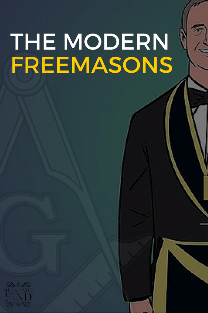 THE MODERN FREEMASONS