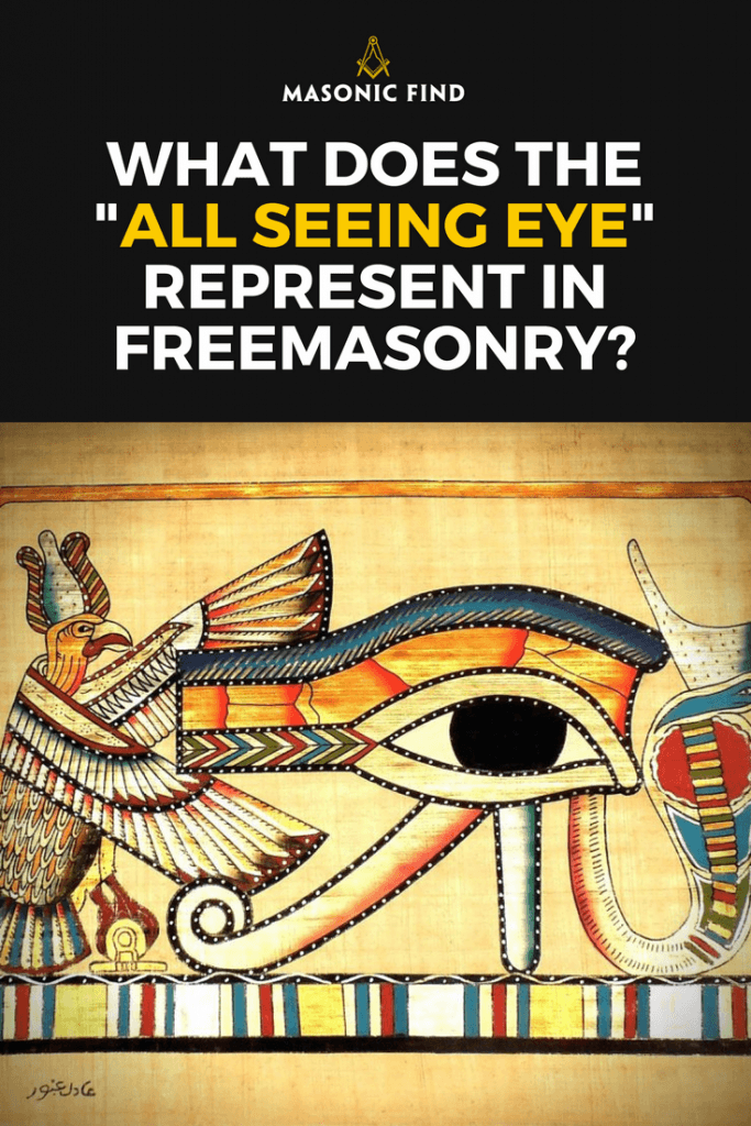 What Is The All Seeing Eye Meaning In Freemasonry?