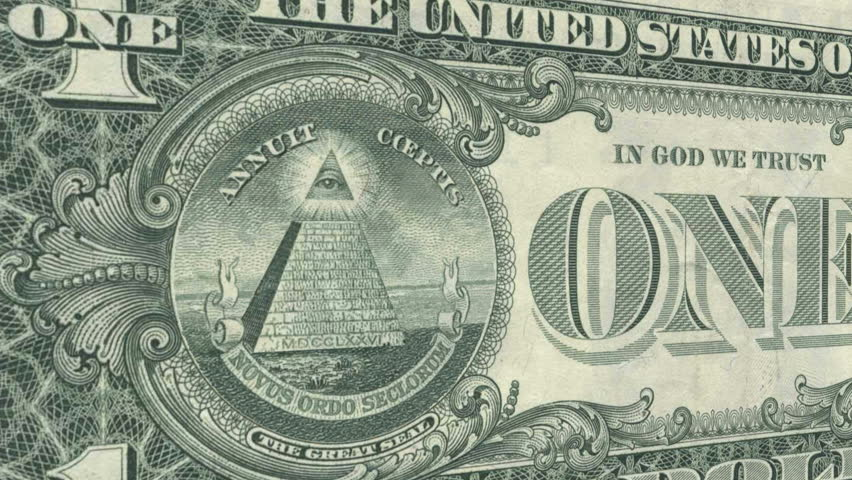 the all seeing eye one dollar