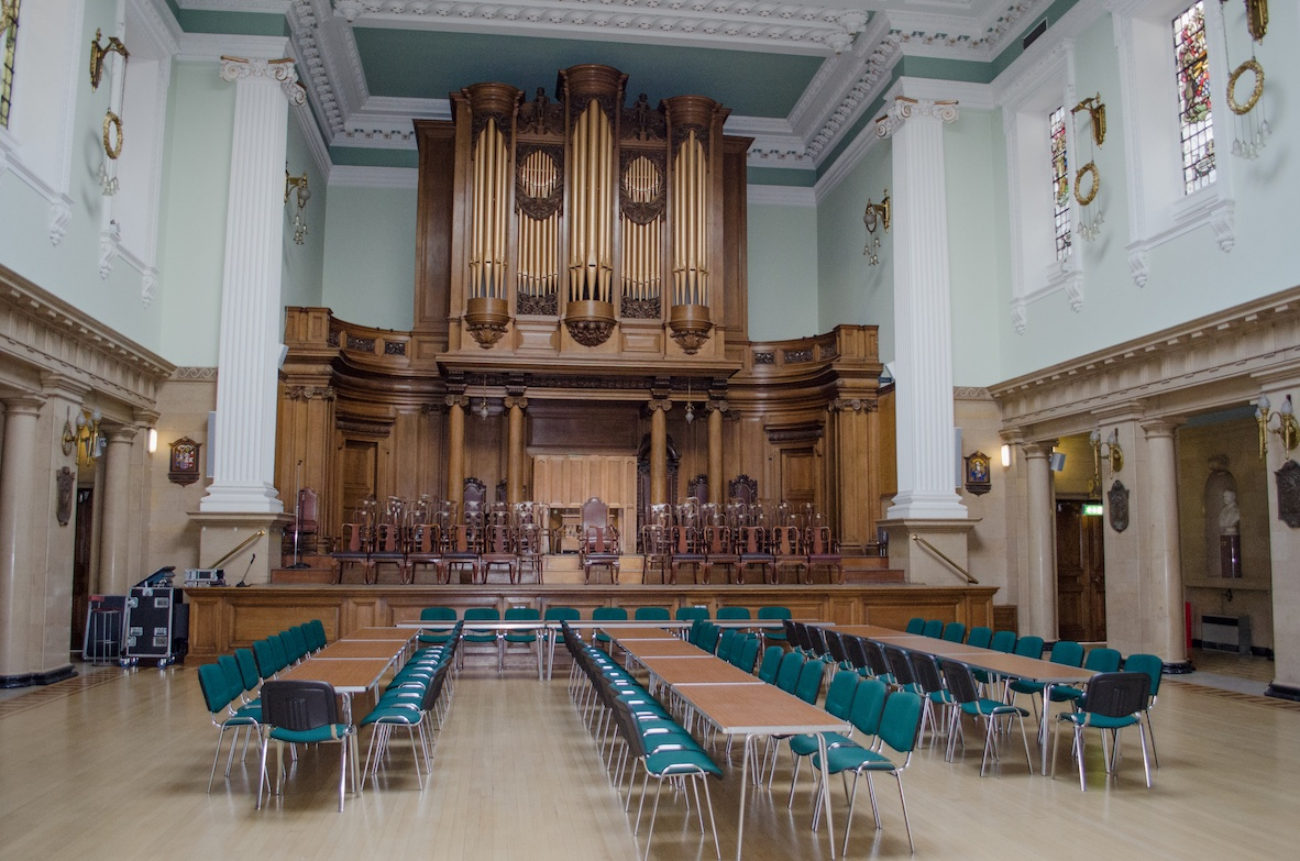 The Grand Lodge of Scotland Main Hall 2