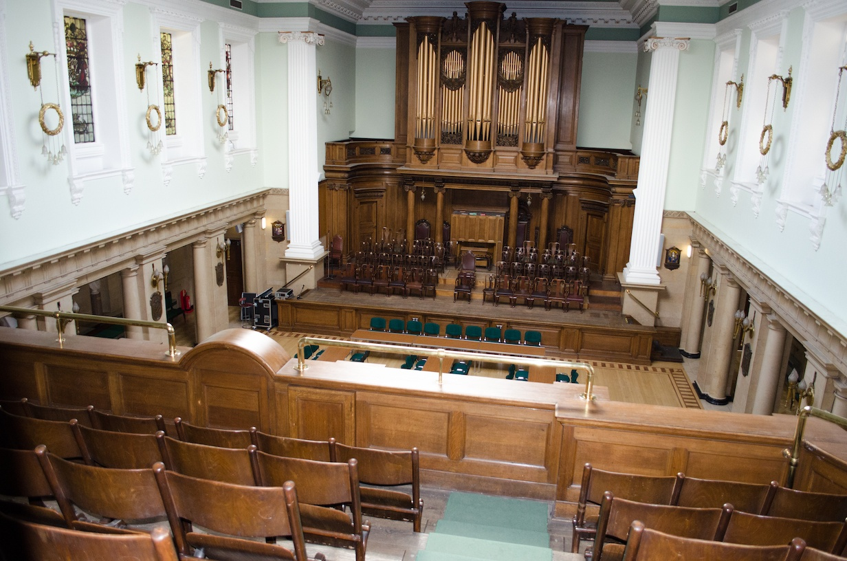 The Grand Lodge of Scotland Grand Hall
