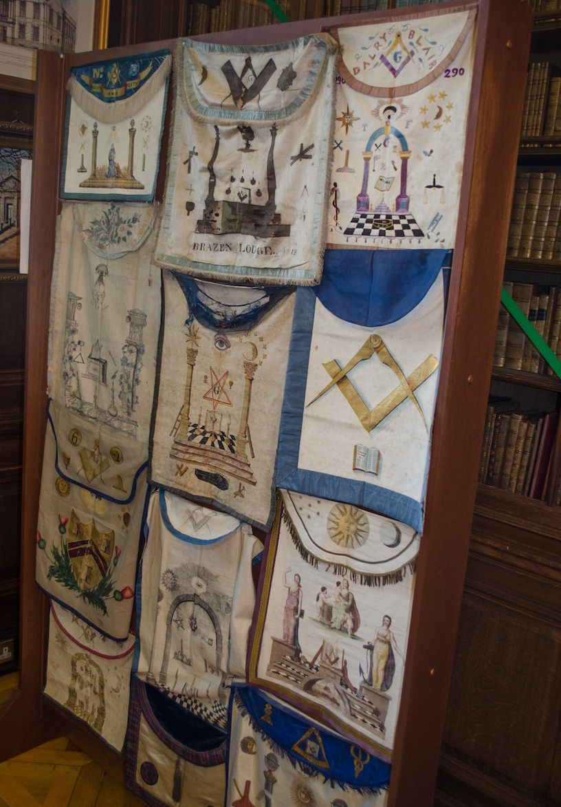The Grand Lodge of Scotland Apron Collection