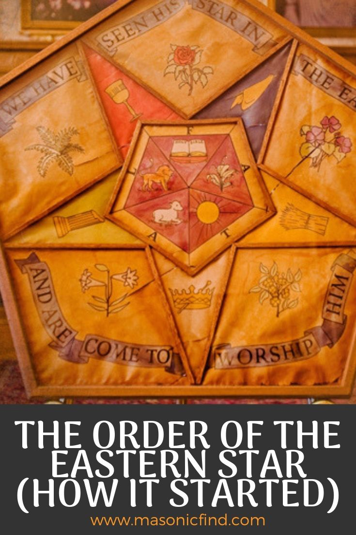 The Order of The Eastern Star