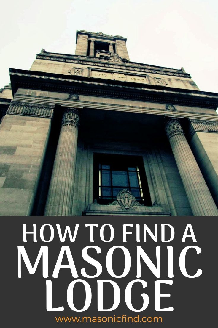 how to find a masonic lodge online