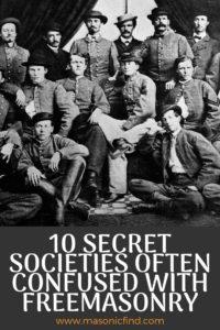 Secret Brotherhoods Like Freemasonry