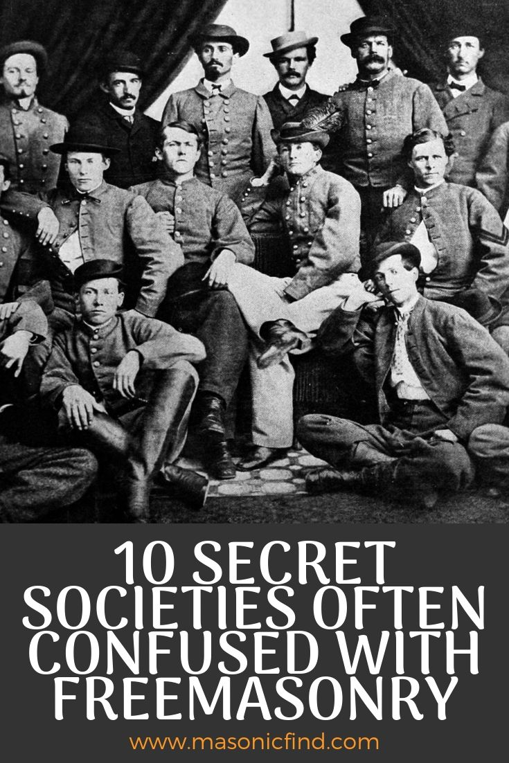 Secret Brotherhoods Like Freemasonry