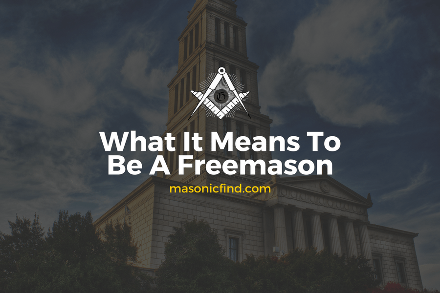 What It Means To Be A Freemason by UGLE