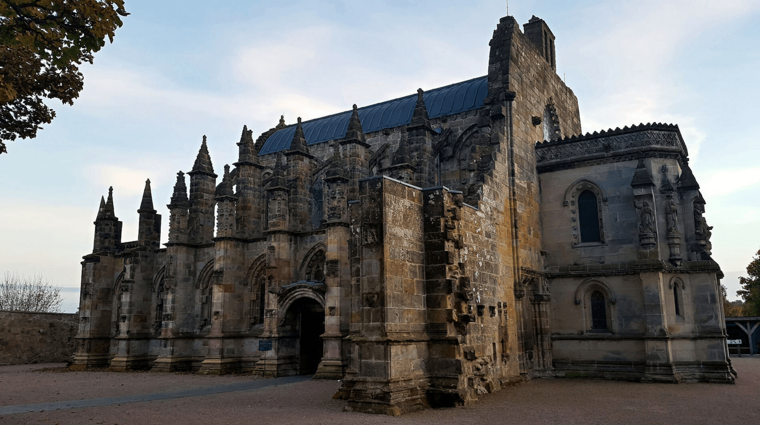 beautiful rosslyn chapel