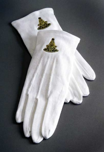 masonic lodge supplies: gloves