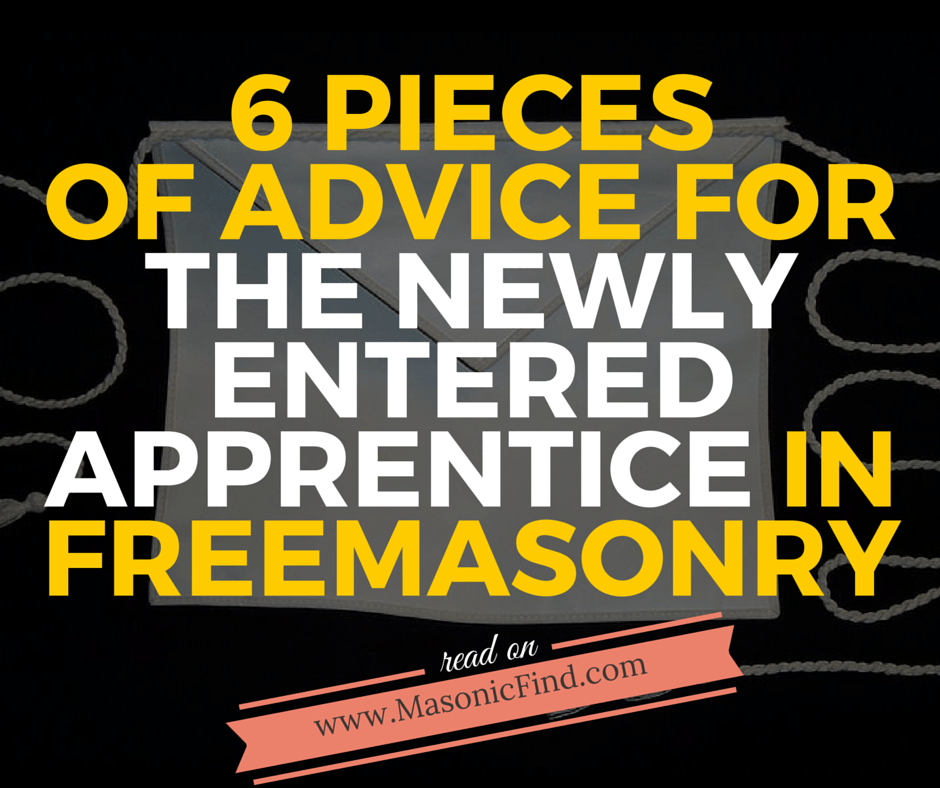 6 pieces of advice for the newly entered apprentice in