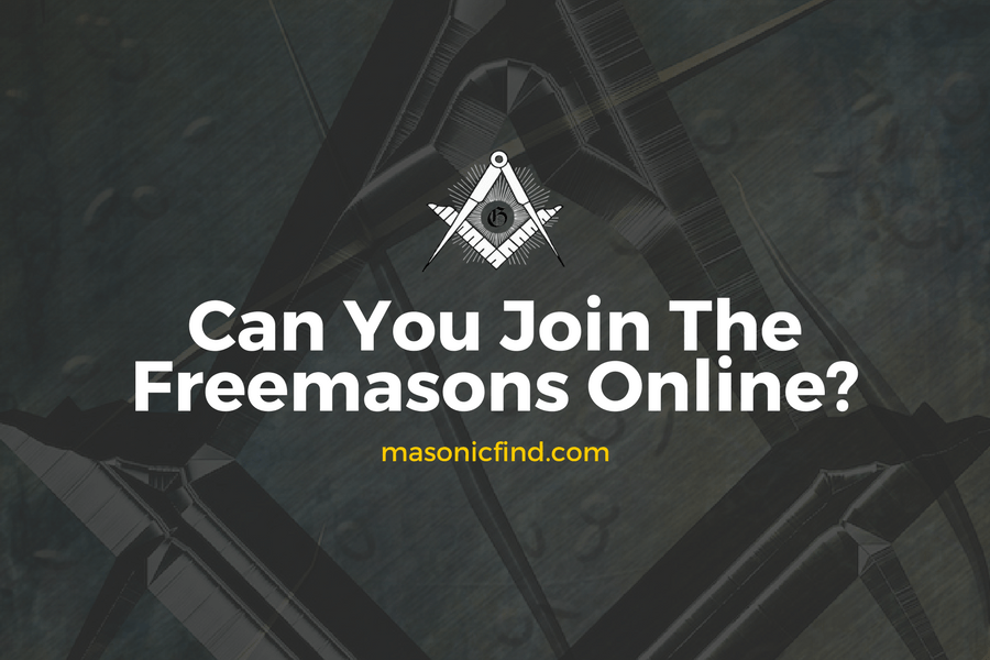 Can You Join The Freemasons Online?