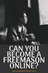 can you become a freemason online