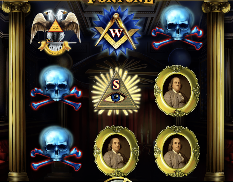 Freemasons Fortunes Slot Machine - Play it Now for Free