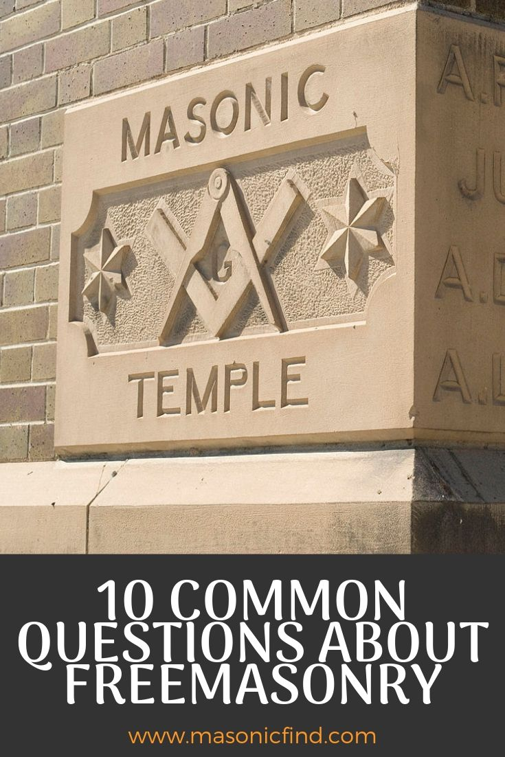 10 common questions about freemasonry