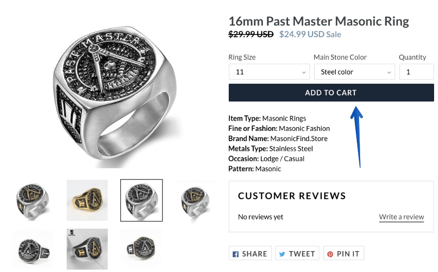 16mm Past Master Masonic Ring - MasonicFind Store 2018-03-07 12-11-13