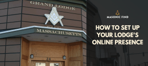 start a website for your lodge