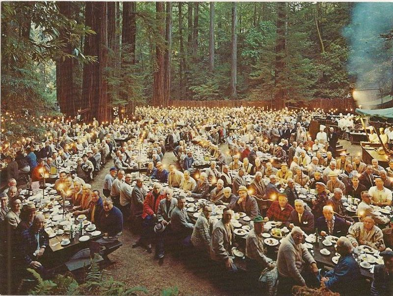 Bohemian Grove Club secret society