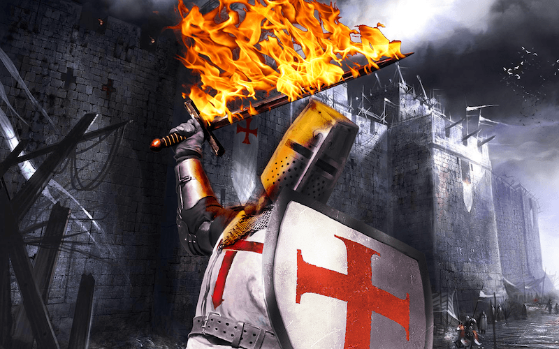 how to become a knight templar