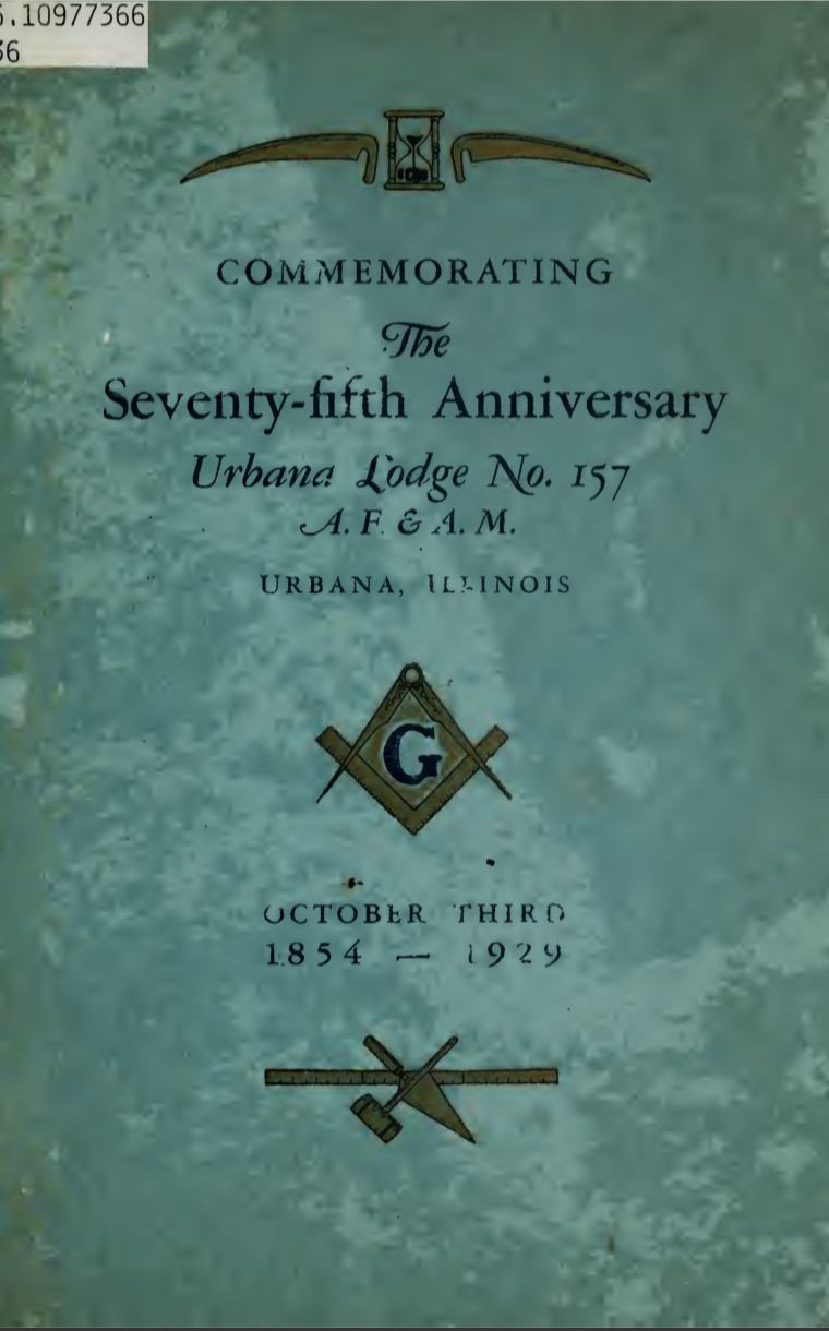 Commemorating The 75TH Anniversary - Urbana Lodge - 1929.pdf (page 1 of 33) 2019-01-26 07-20-24