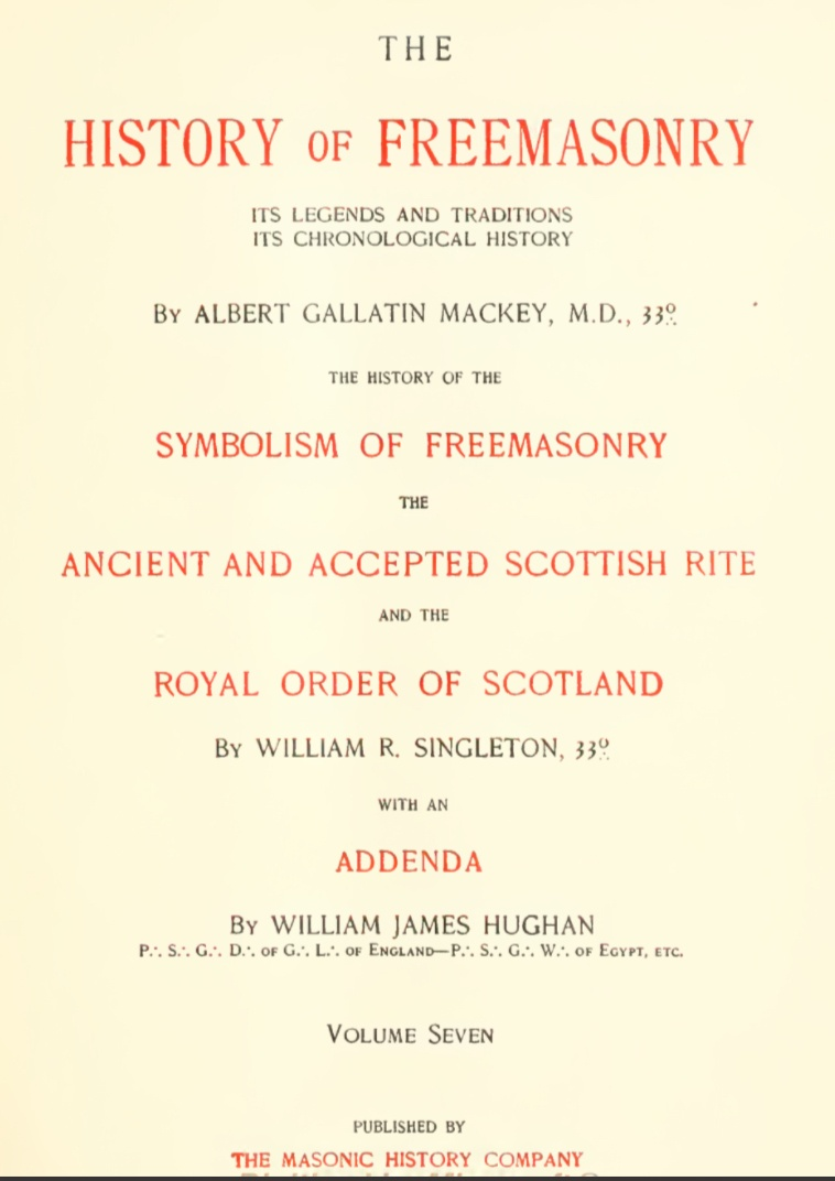 History of Freemasonry - Its Legends and Traditions, Chronological History Vol 7 Mackey, Albert G - UNKOWN.pdf (page 4 of 387) 2019-01-26 07-26-13