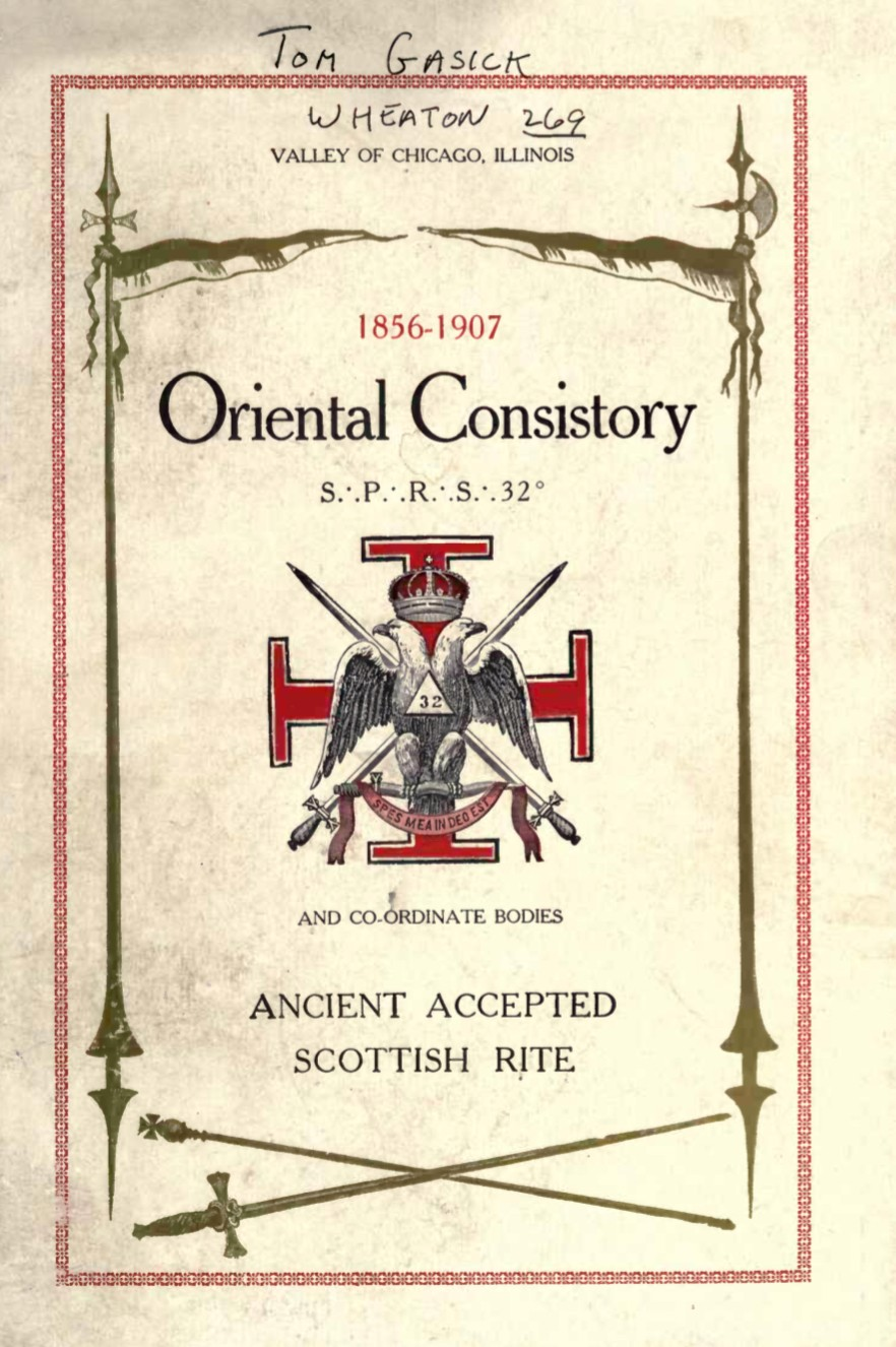 History of Scottish Rite Masonry in Chicago - G Warvelle - 1907.pdf (page 1 of 316) 2019-01-26 07-28-33