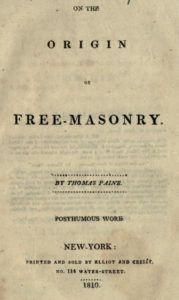 On The Origin of Freemasonry 1910 - Paine - 1810.pdf (page 1 of 38) 2019-01-26 07-29-56
