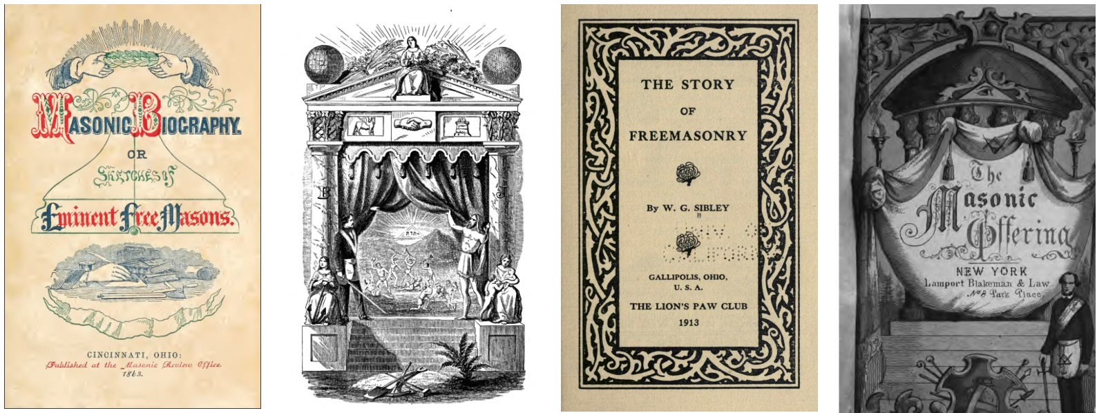 The Great Masonic Library (300+ Rare Masonic Books) - MasonicFind