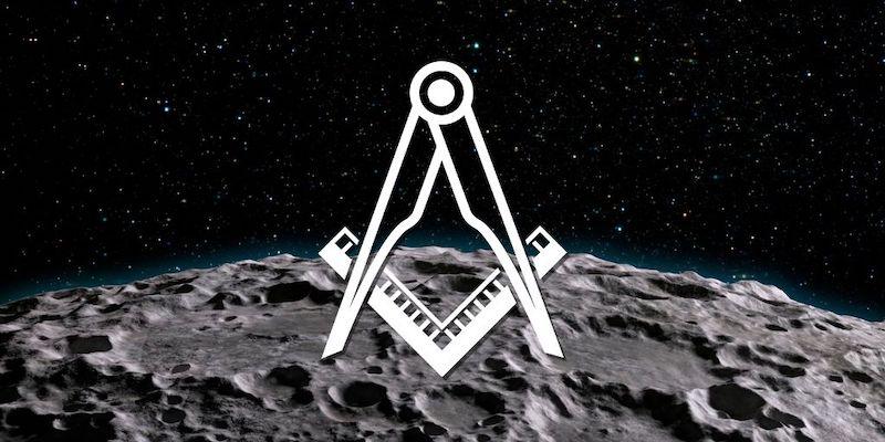 masonic moon buzz aldrin