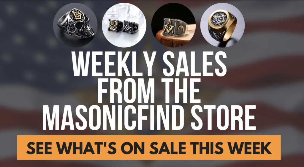 whats on sale this week on the masonicfind store