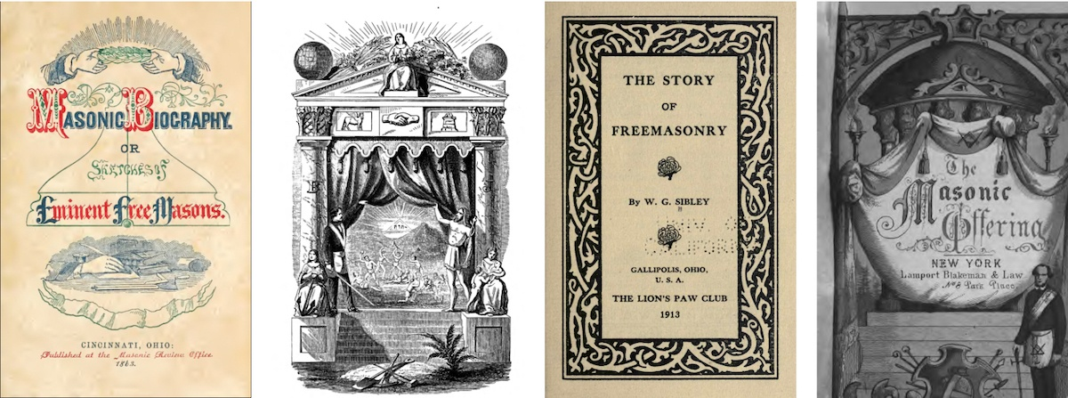 300 rare masonic books