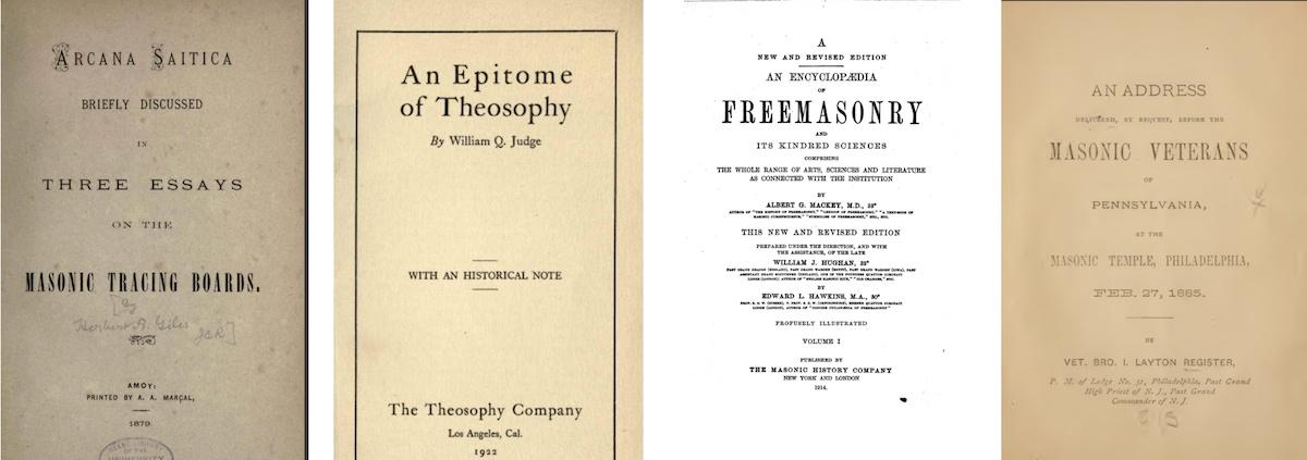 Masonic Books 05