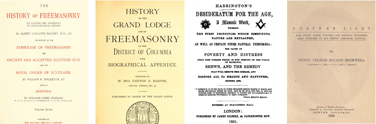 any masonic secrets revealed in these books