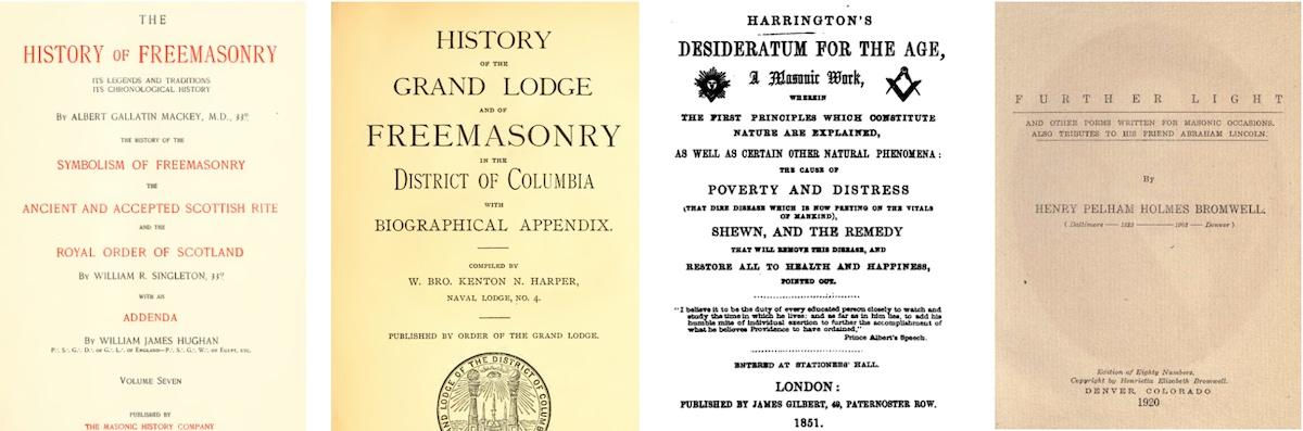 any masonic secrets revealed in these books