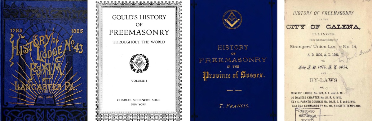 how did we acquire these masonic books