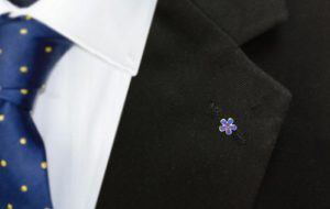 the forget me not pin
