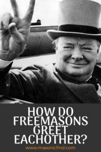 how do freemasons greet each other
