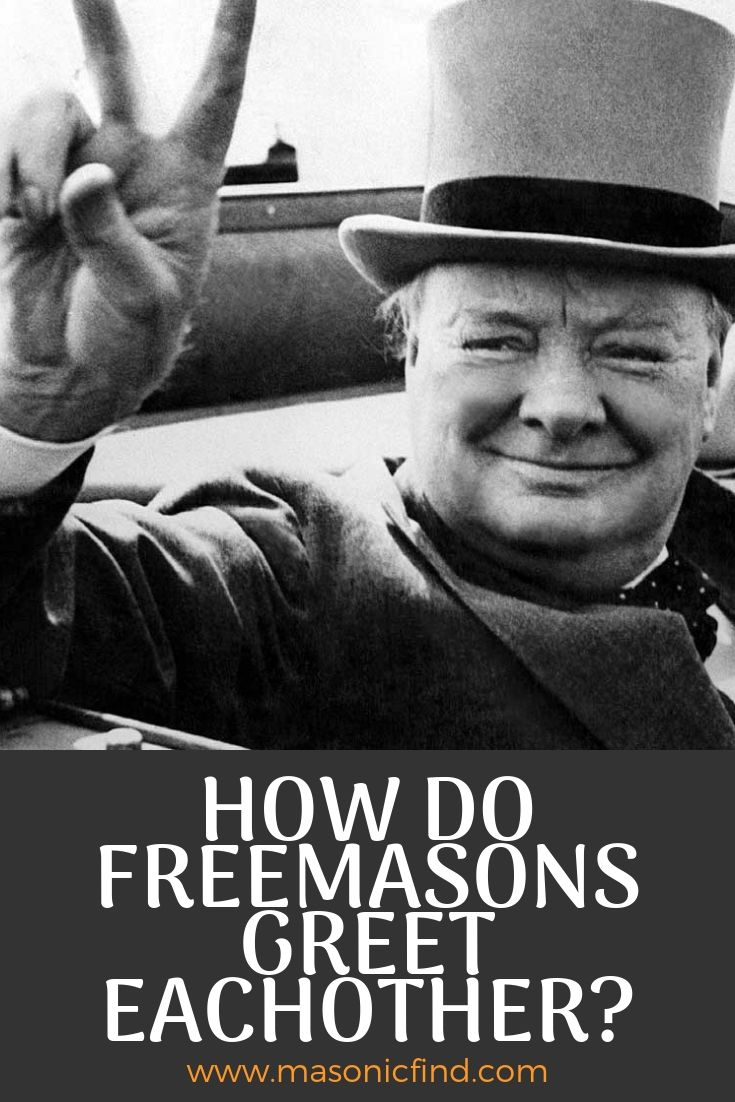 how do freemasons greet each other