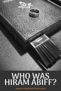 who was hiram abiff