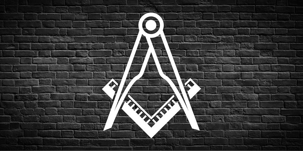 The Masonic Square & Compasses