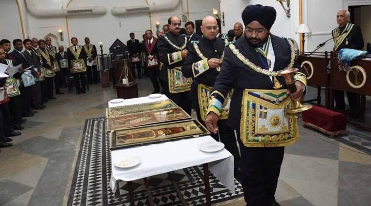 how many freemasons in india