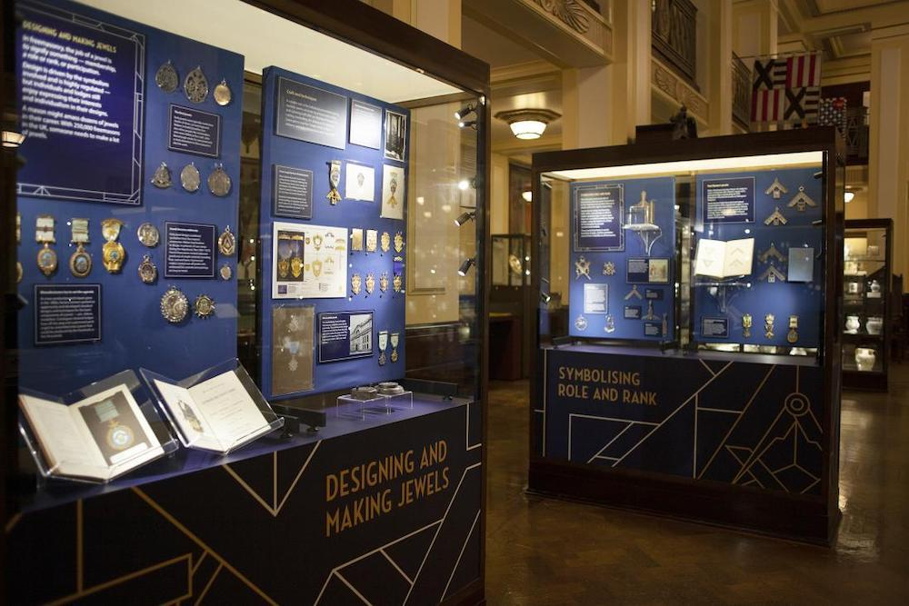 the museum of masonic history in london