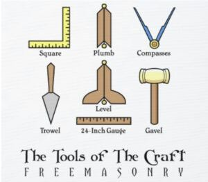 the tools of the craft - master mason working tools