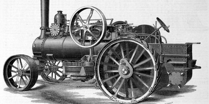 Steam Driven Ploughing Engine