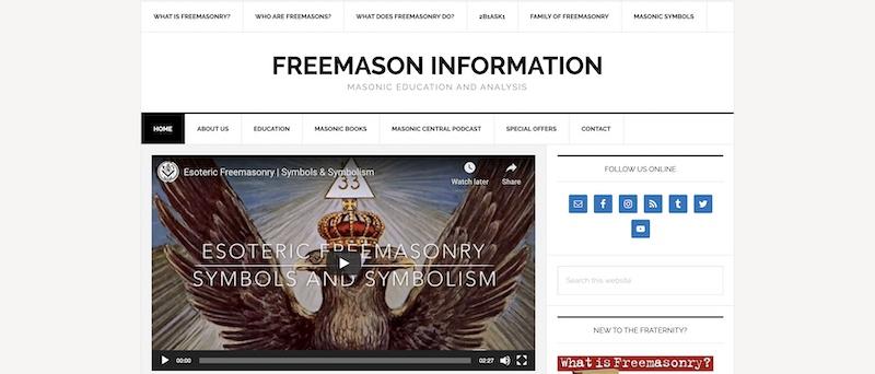 Freemason Information
