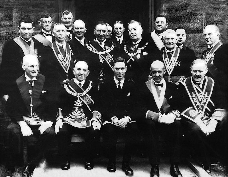 King George Was A Freemason