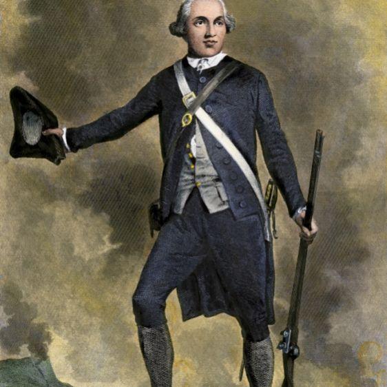 Joseph Warren on Bunker Hill